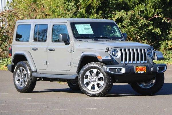 2020 Jeep Wrangler Unlimited Sahara 4x4 In Newport Or Portland